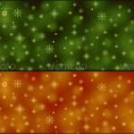 Разноцветные новогодние бэкграунды со снежинками