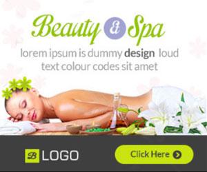 Веб баннеры СПА и салона красоты