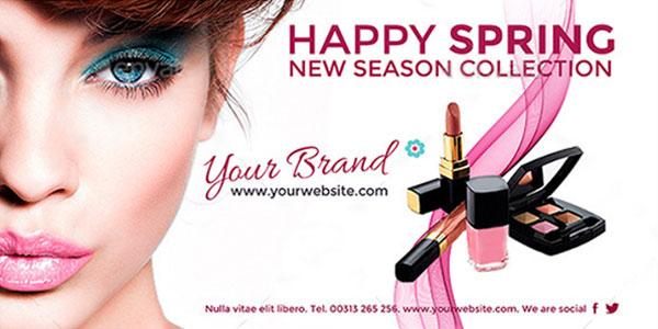 Баннеры макияж для мероприятий и страниц facebook 2