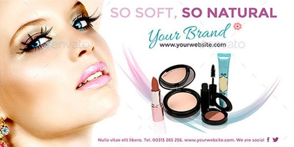 Баннеры макияж для мероприятий и страниц facebook 1