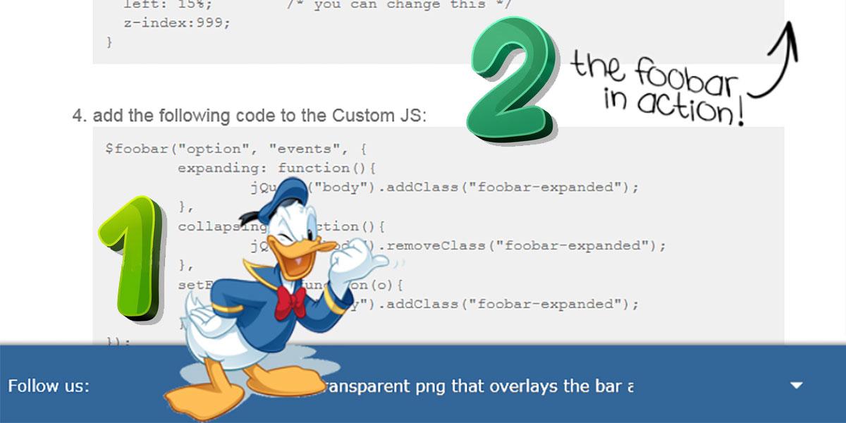 Пример наложения изображения в плагине Foobar