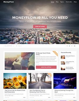 wordpress шаблон mythemeshop MoneyFlow