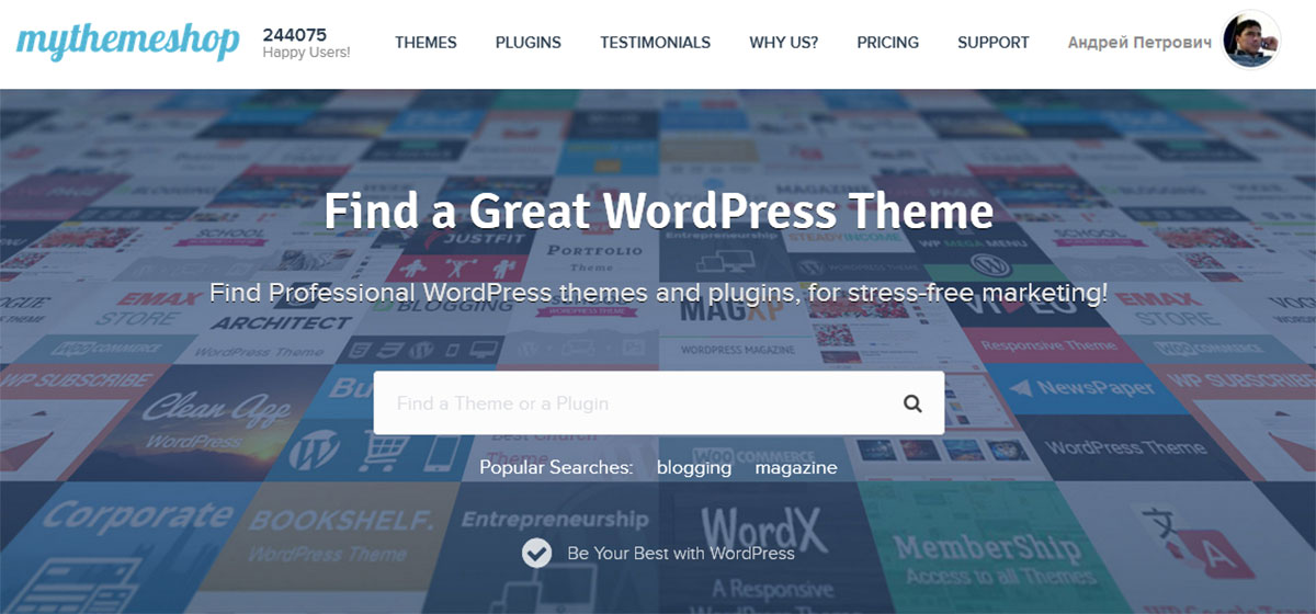 Премиум WordPress шаблоны Mythemeshop