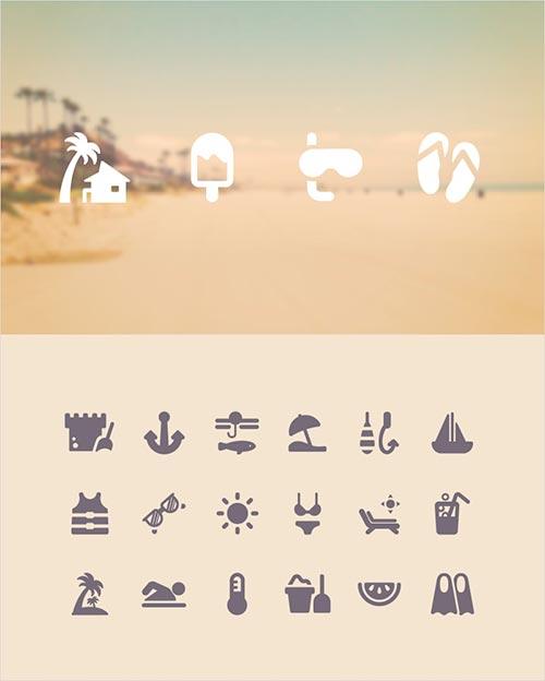 100 бесплатных иконок туризм и путешествия 1