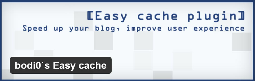 Плагин bodi0s Easy cache