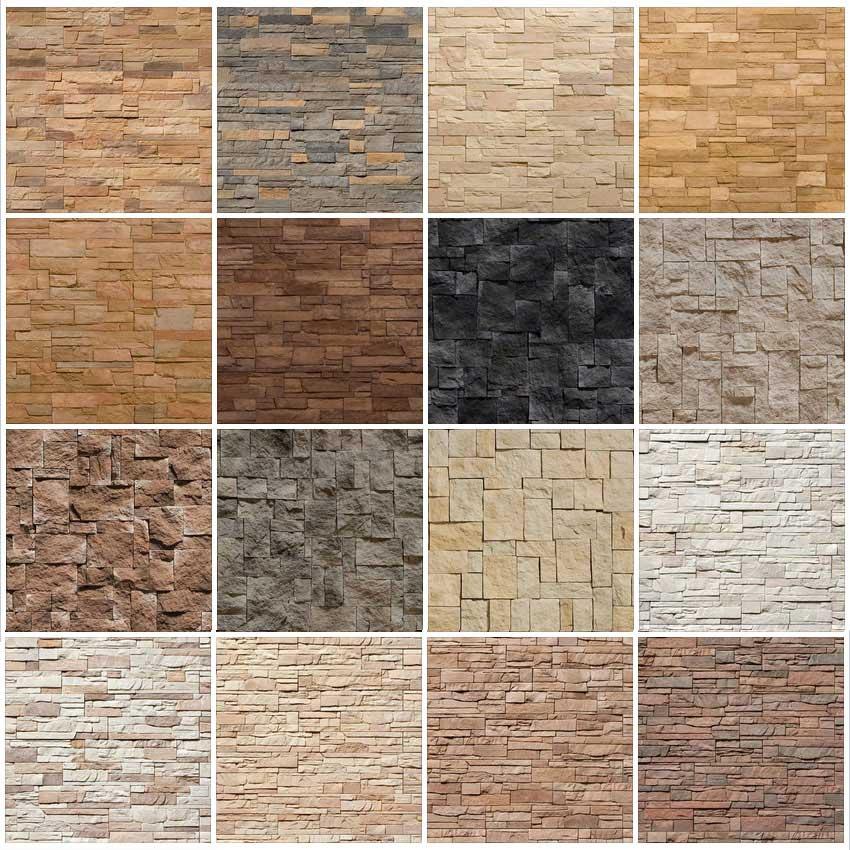 Большая библиотека фото и изображений каменных текстур