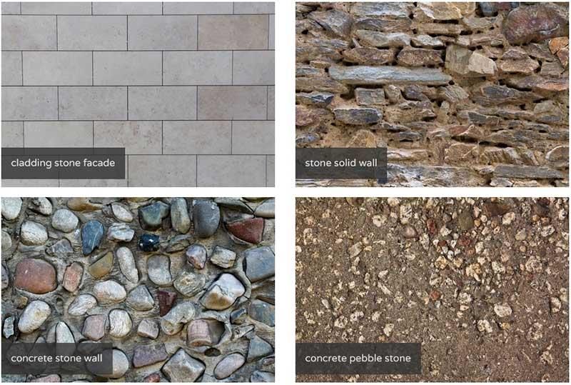 Коллекция фото каменных текстур