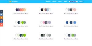 Цветовые схемы Colorion