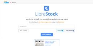 Поисковая система стоковых фото LibreStock