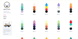 Цветовая палитра LOL Colors