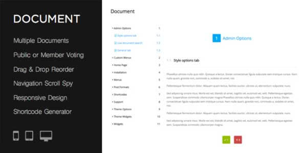 Плагин документации Online Product Documentation WordPress Plugin
