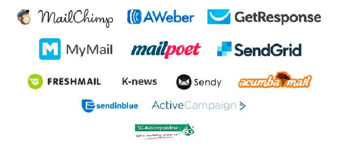 Популярные сервисы почтовых рассылок
