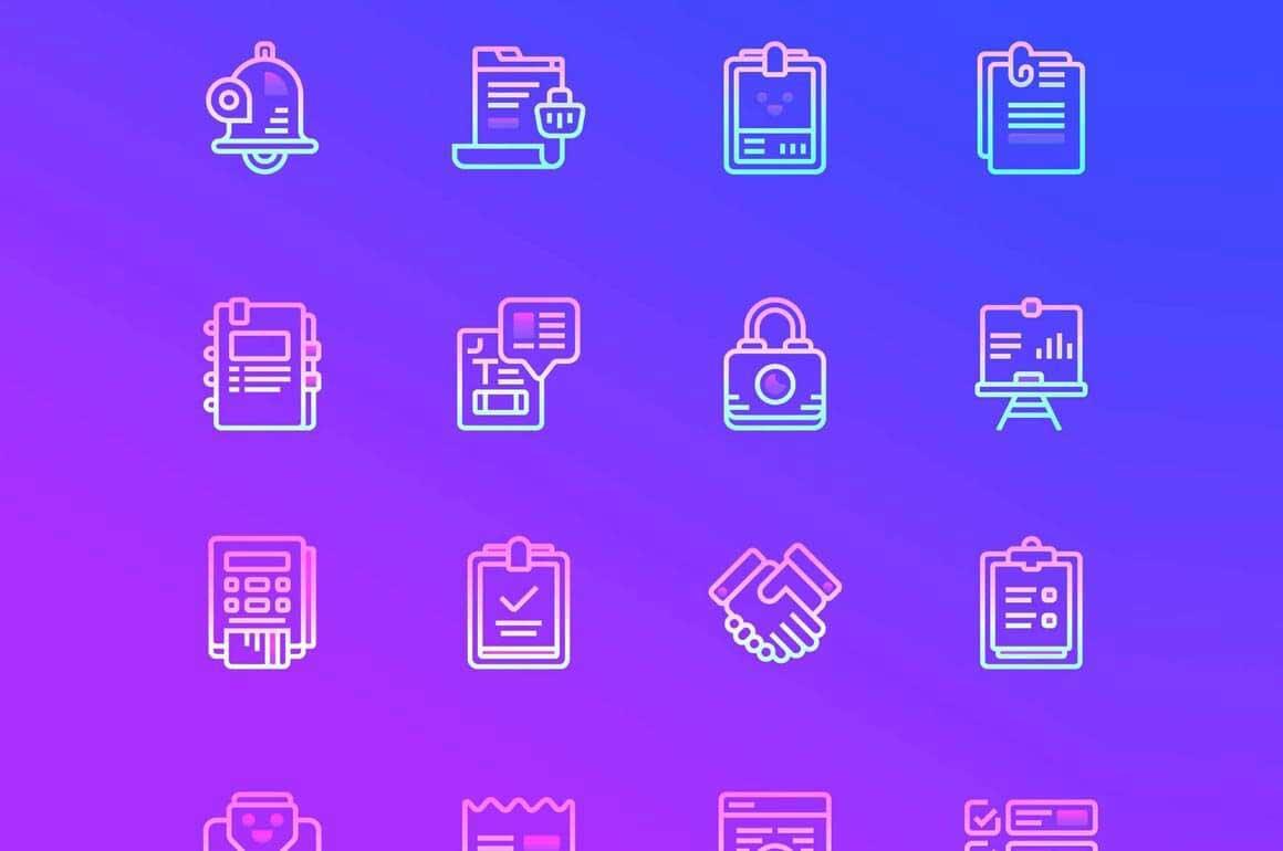 48 бизнес иконок бесплатно