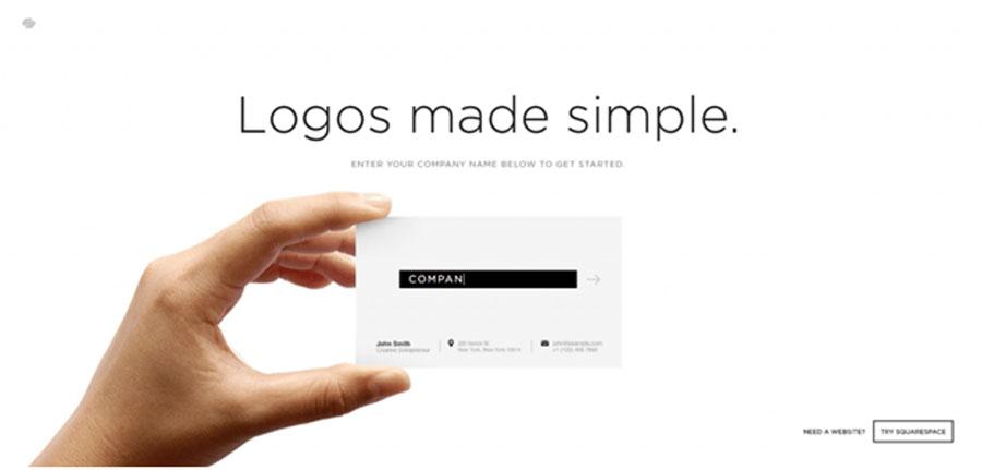 SquareSpace чтобы бесплатно получить профессиональный логотип