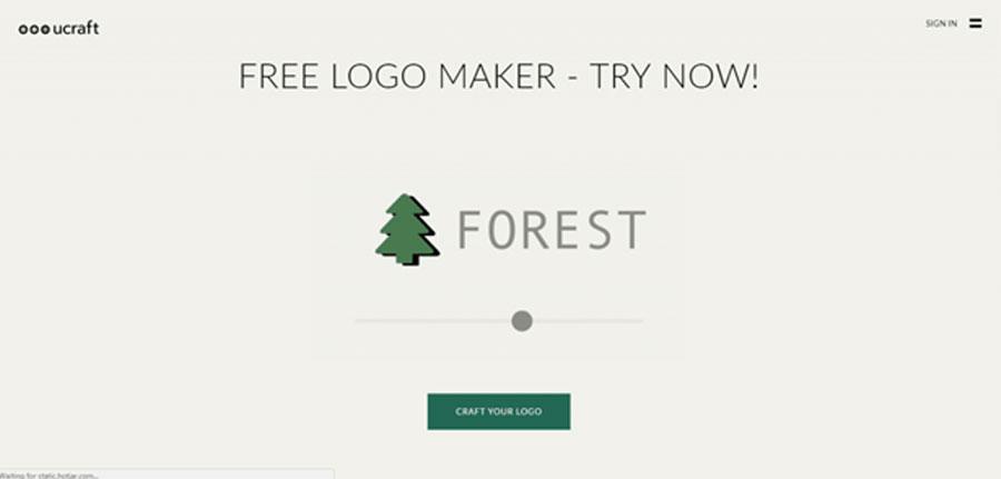 Ucraft создать мультяшные логотипы