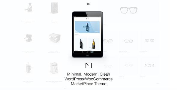 Minishop бесплатный WP шаблон с Themeforest
