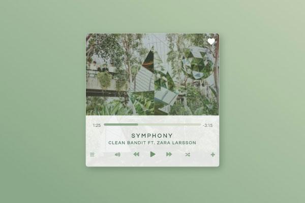 DailyUI : Music Player