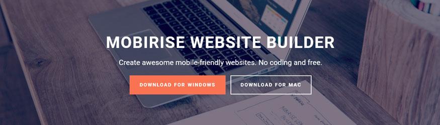 Mobirise Для Windows И Mac