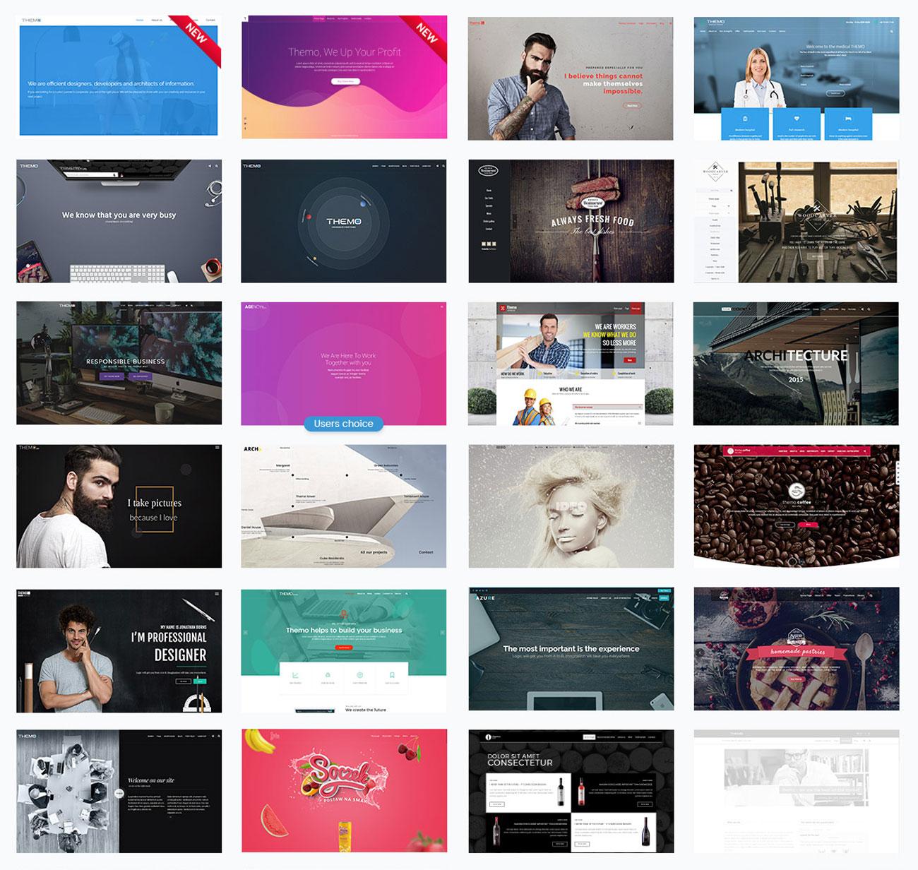 Themo - Creative Parallax WordPress Theme